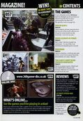 360 Gamer Issue 1 Contents 2