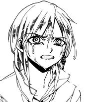 Titus crying