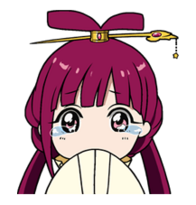 Kougyoku crying Line sticker