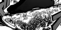 Kouha Ren vs Multiple Black Djinn