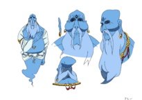 Magi Amon character design