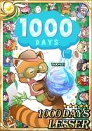 1000 Days Lesser F1