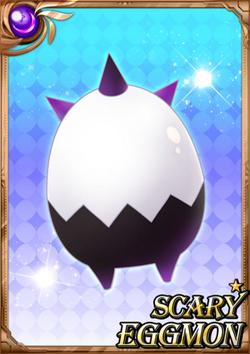 Scary Eggmon full card