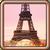 Map Eiffel Tower icon