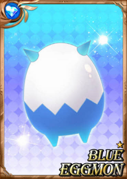 Blue Eggmon full card