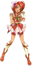 Pretty Cure All Stars DX2 Cure Rouge pose
