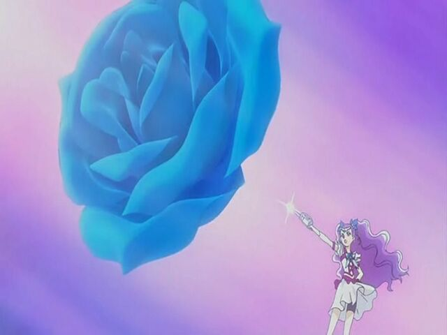 File:Yes! Pretty Cure 5 GoGo! Milky Rose using the Milky Rose Blizzard attack.jpg