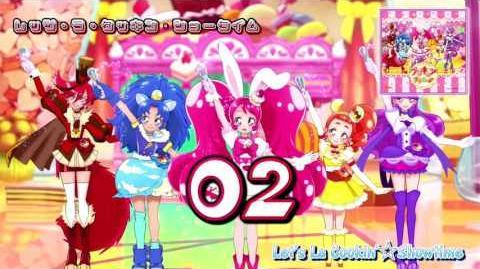 Kirakira☆Precure à la Mode OP&ED Theme Single Track02