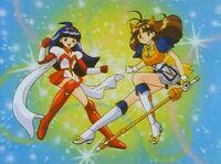 Makeruna! Makendo Mai and Hikari as Makendo2