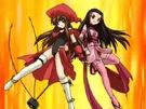 Happy Seven Daikoku-ten and Benzi-ten summoning the Kendotenpa Sky Cannon