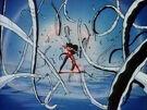 Demon Hunter Makaryuudo Yama summoning her weapon