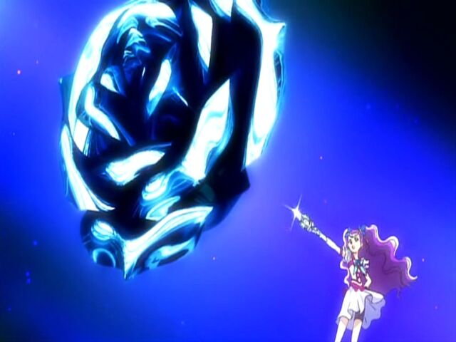 File:Yes! Pretty Cure 5 GoGo! Milky Rose using the Metal Blizzard attack.jpg
