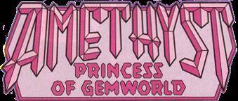 Amethyst, Princess of Gemworld logo