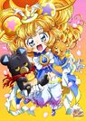 Maho Girls Precure! The Movie Poster Mofurun
