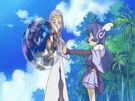 Sasami Mahou Shoujo Club Misao using her magic24