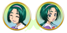 Yes! Pretty Cure 5 Komachi faces