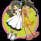 Card Captor Sakura Tomoyo and Meiling pose