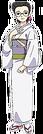 Rakugo Tennyou Oyui Uta pose