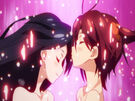 Vividred Operation Akane and Rei about to fusion