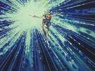 Akazukin Chacha Magical Princess using the Wing Kris Burning Flash attack