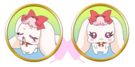 Yes! Pretty Cure 5 Milk faces