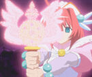 Magical Canan Magical Angel Carmein using her attack26
