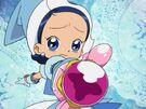 Motto! Ojamajo Doremi Aiko using her spell (sad)