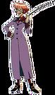 Cutie Honey Flash Teacher Miharu pose