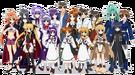 Magical Girl Lyrical Nanoha All Characters