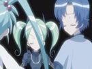 Sasami Mahou Shoujo Club Sasami, Misao and Anri using their magic