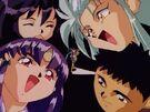 Mahou Shoujo Pretty Sammy Pretty Sammy, Misao, Ryoko, Ayeka and Tenchi