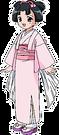 Rakugo Tennyou Oyui Ohana pose