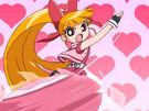 Powerpuff Girls Z Blossom using her attack24