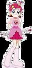 Cosmic Baton Girl Comet-san Comet pose4