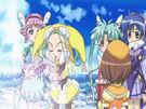 Sasami Mahou Shoujo Club Anri using her magic4