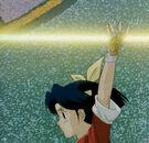 Mamono Hunter Yohko Azusa summoning her lance3