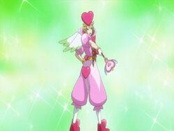 Hikari no Yousei 5 Angelica transformation pose