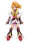 Pretty Cure Max Heart Movie2 Phoenix Cure Black pose