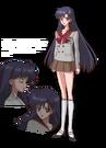 Sailor Moon Crystal Rei pose