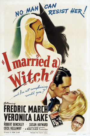 Poster - I Married a Witch 01