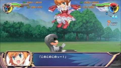 Super Heroine Chronicle Red Angel Minazuki Haruka All Attacks