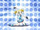 Powerpuff Girls Z Bubbles transformation pose