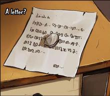Chapter 13 Letter
