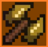 Goldium Great Axe