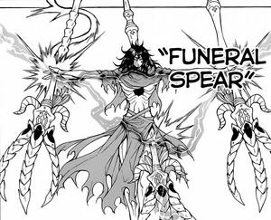 Funeral Spear Magic