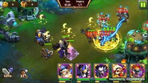 Magic Rush Heroes Mech Baby Crusade
