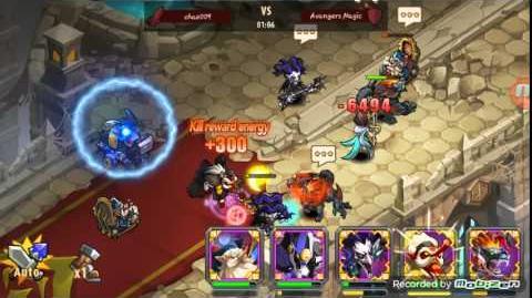 Magic Rush Heroes Mech Baby Arena