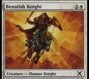 Cavaliere di Benalia (Benalish Knight)