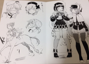 Restart manga limited leaflet