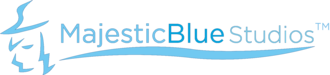 Majesticblue studios logo